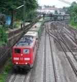 br-151/12141/151-046-mit-ike-50181-am 151 046 mit IKE 50181 am 07.06.2008 in Offenburg.
