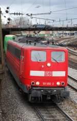 br-151/12144/151-050-mit-ike-50181-am 151 050 mit IKE 50181 am 27.03.2008 in Offenburg.