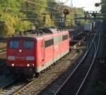 br-151/4955/151-059-mit-ike-50190-am 151 059 mit IKE 50190 am 25.10.2008 in Offenburg.