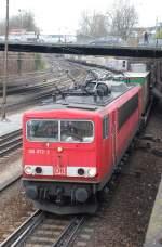 br-155/13046/155-072-am-04042008-in-offenburg 155 072 am 04.04.2008 in Offenburg.