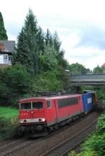 br-155/13924/155-167-am-08082008-in-offenburg 155 167 am 08.08.2008 in Offenburg.