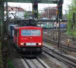 br-155/13930/155-203-am-29042008-in-offenburg 155 203 am 29.04.2008 in Offenburg.
