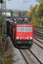 br-155/13991/155-266-am-10102008-in-offenburg 155 266 am 10.10.2008 in Offenburg.