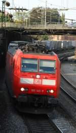 br-185/10134/185-145-mit-tec-40011-am 185 145 mit TEC 40011 am 27.09.2008 in Offenburg.