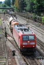 br-185/14027/185-070-am-13082008-in-offenburg 185 070 am 13.08.2008 in Offenburg.