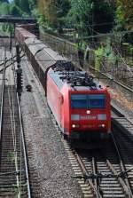br-185/14102/185-104-mit-tec-40192-am 185 104 mit TEC 40192 am 13.08.2008 in Offenburg.