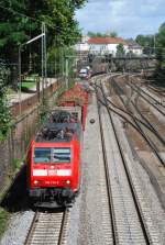 br-185/14465/185-133-am-13082008-in-offenburg 185 133 am 13.08.2008 in Offenburg.