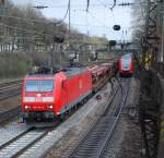 br-185/14484/185-134-am-02042008-in-offenburg 185 134 am 02.04.2008 in Offenburg.