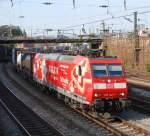 br-185/14489/185-142-mit-tec-40009-am 185 142 mit TEC 40009 am 19.09.2008 in Offenburg.