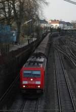 br-185/14683/185-303-am-25022009-in-offenburg 185 303 am 25.02.2009 in Offenburg.