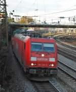 br-185/5616/185-206-mit-fe-44661-am 185 206 mit FE 44661 am 17.10.2008 in Offenburg.
