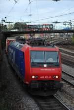 re-482/10904/482-013-mit-dgs-43087-am 482 013 mit DGS 43087 am 07.10.2008 in Offenburg.