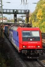 re-482/10908/482-037-mit-dgs-43087-am 482 037 mit DGS 43087 am 08.10.2008 in Offenburg.