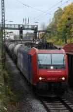 re-482/6830/482-022-mit-dgs-49099-am 482 022 mit DGS 49099 am 14.10.2008 in Offenburg.
