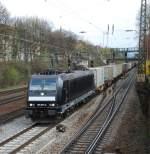 crossrail/14755/185-573-am-06042008-in-offenburg 185 573 am 06.04.2008 in Offenburg.