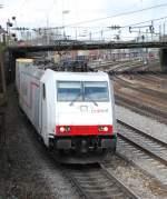 crossrail/14758/185-578-mit-dgs-40163-am 185 578 mit DGS 40163 am 04.04.2008 in Offenburg.