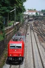 hgk/14907/185-587-am-26072008-in-offenburg 185 587 am 26.07.2008 in Offenburg.