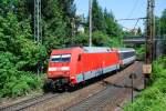 BR 101/10954/101-030-mit-ec-7-am 101 030 mit EC 7 am 30.05.2008 in Offenburg.
