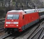 BR 101/11299/101-104-mit-ec-100-am 101 104 mit EC 100 am 27.03.2008 in Offenburg.