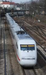 ICE 1 Mehrsystem/13913/401-072-am-18032009-in-offenburg 401 072 am 18.03.2009 in Offenburg.