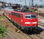 BR 111/11324/111-061-am-23052008-in-offenburg 111 061 am 23.05.2008 in Offenburg.