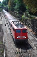 BR 115/11819/115-293-am-13082008-in-offenburg 115 293 am 13.08.2008 in Offenburg.
